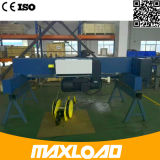 8 Tonnen-doppelte Träger-Drahtseil-elektrische Hebevorrichtung (MLER08-06D)