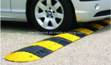 Vente chaude de vitesse de bosse jaune et noire de circulation de sécurité routière durable
