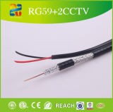 O melhor Professional Composite Rg59 Coaxial Cable com Power Cable