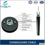 Do núcleo ao ar livre da única modalidade 2-12 de cabo ótico GYXTW da fibra do uso do duto de fonte da fábrica da alta qualidade preço de fibra óptica do cabo