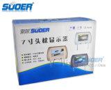 De Hete Verkoop van Suoer de Monitor van de Hoofdsteun van de Monitor van de Auto van 7 Duim (Se-9001-Wit)
