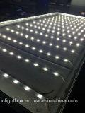 Boîte légère de publicité utilisée extérieure de tissu de textile d'armature de boîte légère de tissu de LED