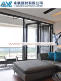 Profile di alluminio per Folding Door con Laminated Glass
