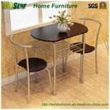 3部分2人の金属木ダイニングテーブル(WS16-0076の食堂の家具)