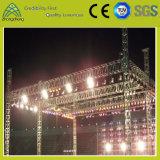 400 mm * 400 mm iluminación de la etapa Cruz Especificación de aluminio Rendimiento Tornillo braguero
