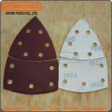 Strato della carta vetrata di Velco della granulosità di Schang-Hai Ostartools 80 con il foro