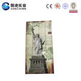 De sjofele Decoratie van het Huis van het Standbeeld van de Vrijheid Houten (SCWD00381)