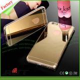 Cajas transparentes del espejo de los accesorios TPU del teléfono celular para el iPhone 6 6s (RJT-0147)