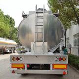 Трейлер топливного бака алюминиевого сплава Axle стандарта 3 Adr