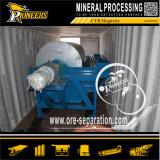 Molhar - e - o separador mineral do ímã da maquinaria da separação magnética de processo seco