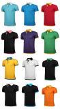 China-Fabrik-Zoll gedrucktes Baumwollineinander greifen-Pikee-Polo-Hemd