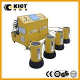 Sistema de levantamento hidráulico Synchronous do PLC