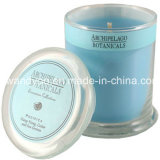 Scented luxuoso Soy Candle em Glass com Lid