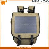 Usb-Sonnenenergie, welche die voltaischen Panels aufladen Laptop-Beutel-Rucksack auflädt
