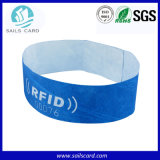 Lunghezza Adjustible RFID Wristband per Access Control Management
