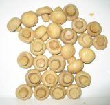 Intero fungo inscatolato del fungo prataiolo in stagno