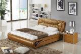 A013-1 ближневосточные поднимают вверх кровать хранения самомоднейшую кожаный деревянную