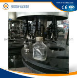 Máquina de enchimento do vinho vermelho de Alhocol do frasco de vidro