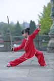 Sacerdotes de Taichi del Taoism de los niños del resorte y del lino del verano uniformes