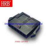 Micro-Caber o plugue que abriga o único conetor da fileira com a montagem do painel