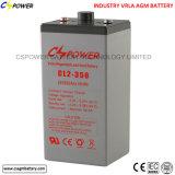 Batterie d'acide de plomb 2V1500ah pour des projets et l'usage d'offres