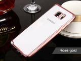 Caisse molle ultra mince de l'espace libre TPU pour Samsung S6