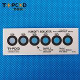 Tarjeta libre del indicador de humedad de Hic del dicloruro y del halógeno del cobalto de 6 puntos