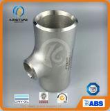 Acero inoxidable que reduce la instalación de tuberías de la te 316/316L con PED (KT0034)
