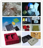 Электрические термоформования одноразовые пластиковые Контейнеры для пищевых продуктов Лотки Изготовление формируя машину