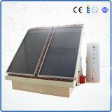 Calentador de agua solar a presión fractura de la pantalla plana de la caja fuerte