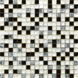 Brown 2016 Series Ceramic & Glass Wall Mosaics con Resin