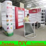 Cabina modular reutilizable de la exposición de la feria profesional para la venta