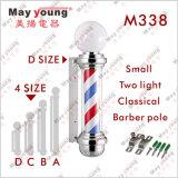 Barbeiro novo Pólo decorativo, luz do projeto M338 do sinal do salão de beleza