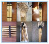 Pala de madera de la maneta con el apretón S501y/S503y del metal