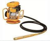Vibratore per calcestruzzo benzina/della benzina con l'asta cilindrica del tubo flessibile del vibratore di 45mm