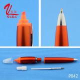 Pluma plástica del Highlighter de la pluma de la calidad plástica promocional de Hight en venta