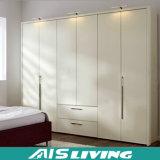 عامّة لمعان بيضاء حديثة غرفة نوم خزانة ثوب [سليد دوور] ([أيس-و171])