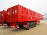 3 Axle Van Body Truck/Ladung-Kasten-halb Schlussteil