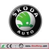 Skodaのために3D車のロゴの印を広告するカスタマイズされた旗の表記