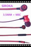 音楽のMP3/MP4/Mobileの電話ヘッドセットのイヤホーン