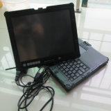 2017 computadora portátil de diagnóstico de la pantalla táctil del Nec del ordenador de Seconde de la mano 2g con la batería sin el trabajo de HDD para la herramienta de la estrella C3 C4 del MB