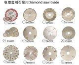El diamante lapidario Electroplated vio la lámina