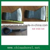 Testa di ascia del acciaio al carbonio dell'utensile per il taglio del hardware dell'ascia