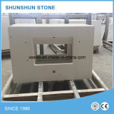 White puro Artificial Countertop Starlight Quartz Stone per Kitchen