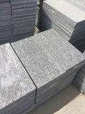 Outdoor Driveway、WalkwayのためのNeroサンティアゴGranite Flooring Tiles