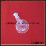 Pallone trasparente di vetro di Borosilicate della parte inferiore piana per il laboratorio
