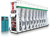 De Machine van de Druk van de Rotogravure van de Film van pp met 4 Kleuren 1000mm