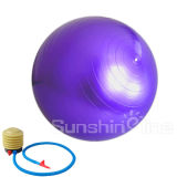 Шарик йоги шарика оборудования спорта шарика пригодности подходящий