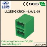 Conetor Pluggable dos blocos Ll2edgkrhg-5.0/5.08 terminais