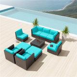 Muebles modernos de la piscina del hotel de la rota de mimbre de la alta calidad